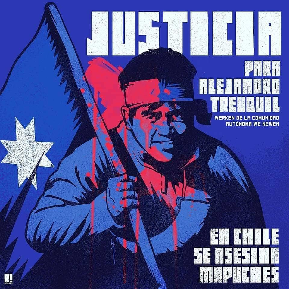 Justicia para Alejandro Treuquil