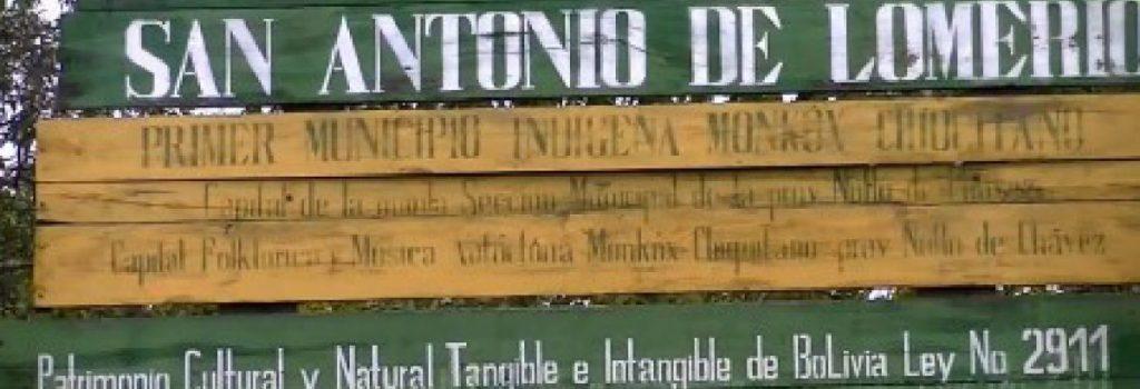 Comunidad indigena San Antonio de Lomerio